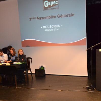 3eme Assemblée générale à Mouscron