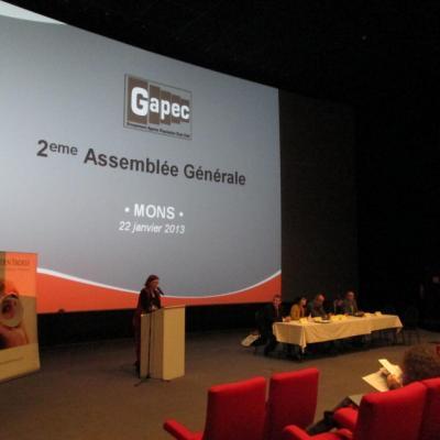 2eme Assemblée générale à Mons